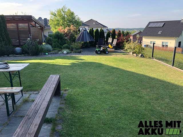 Mähroboter Begrenzungsdraht Alternative - Garten