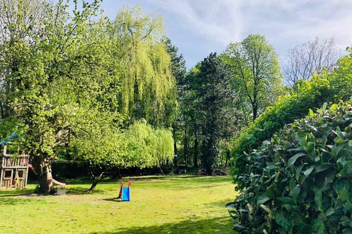 Mähroboter ohne Begrenzungskabel - Großer Garten
