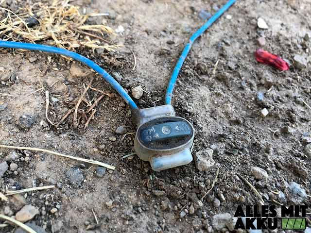 Mähroboter ohne Begrenzungskabel - Kabel