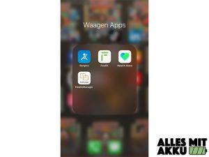 Personenwaagen Test - Apps