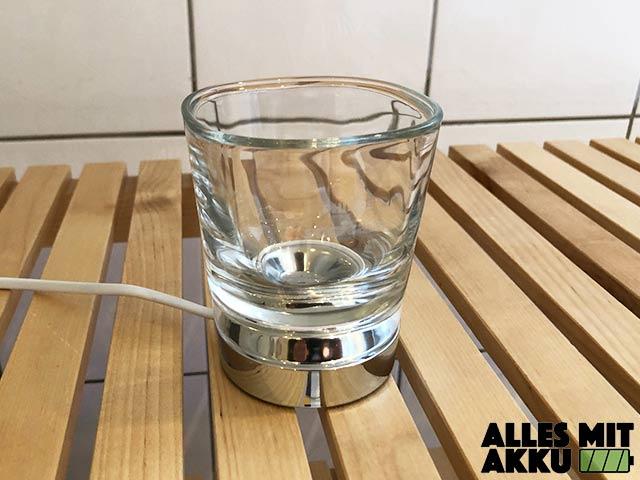 Philips Sonicare DiamondClean Test - Glas Ladestation