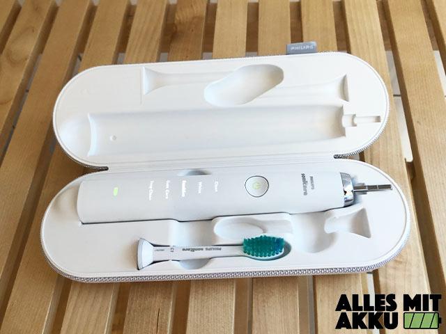 Philips Sonicare DiamondClean Test - Im Case