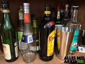 Wassereinlagerungen - Alkohol