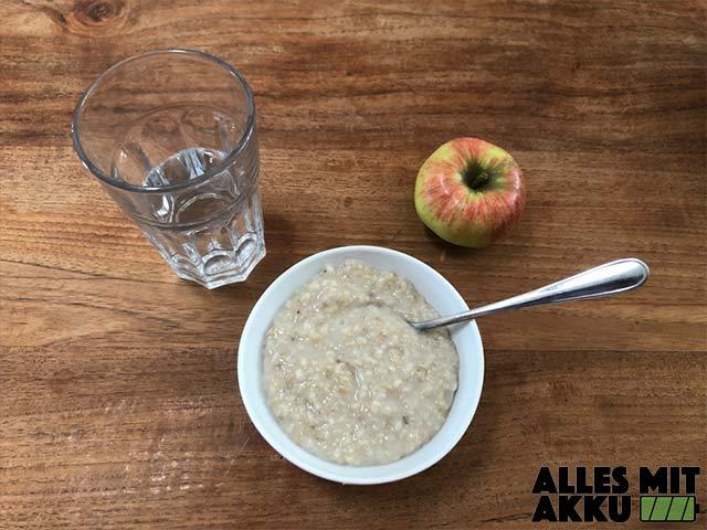 Wassereinlagerungen - Gesundes Frühstück