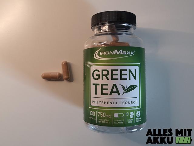 Wassereinlagerungen - Green Tea Kapseln