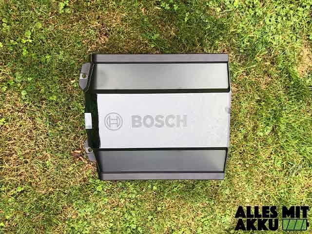 Mähroboter Garagen - Bosch Garage Oben