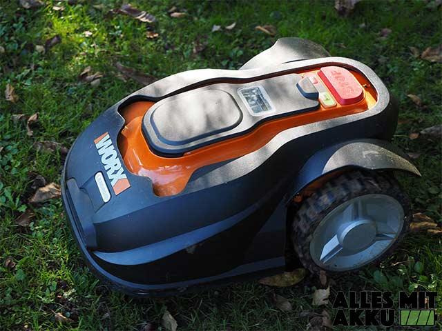 Mähroboter Test - Worx Lawn Mower