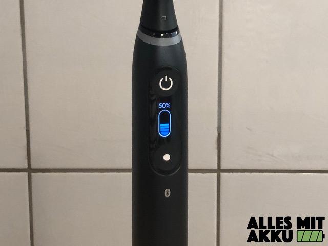 Oral-B iO 8 - Batterieanzeige