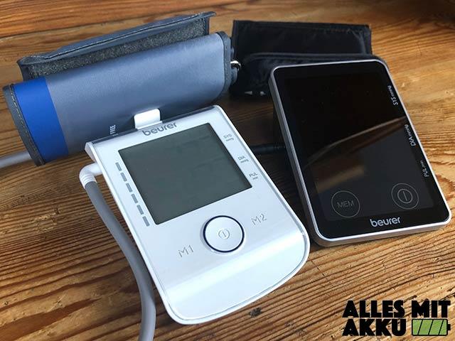 Beurer Blutdruckmessgeräte Test