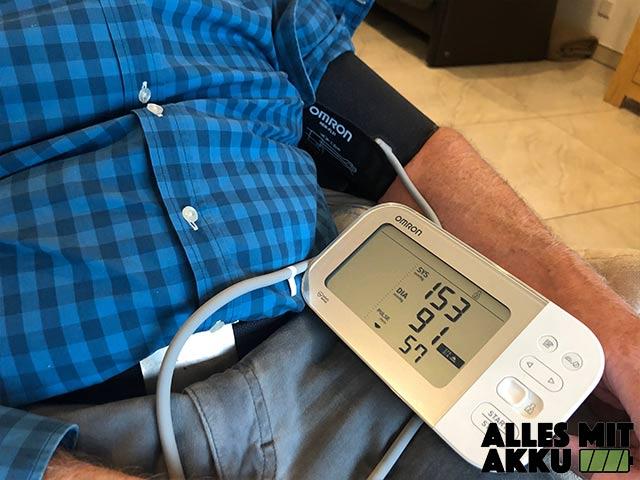 Blutdruck Normalwerte - Omron - Display übersichtlich