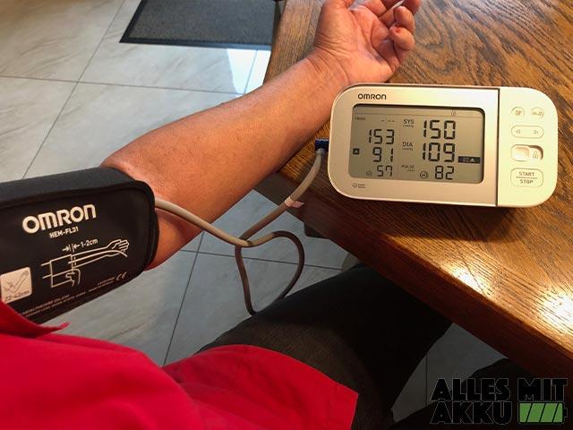 Blutdruck Normalwerte - Omron - Verschiedene Daten
