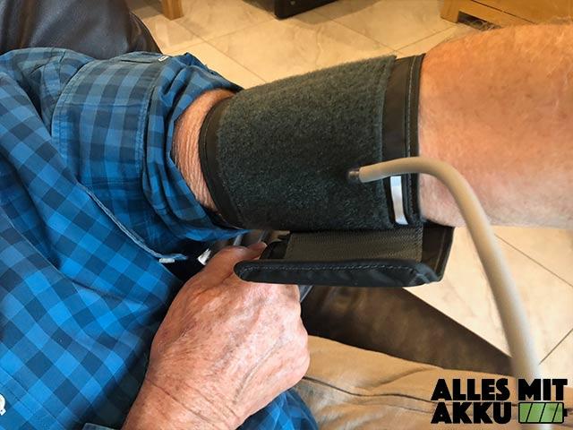 Blutdruck senken - Boso anlegen