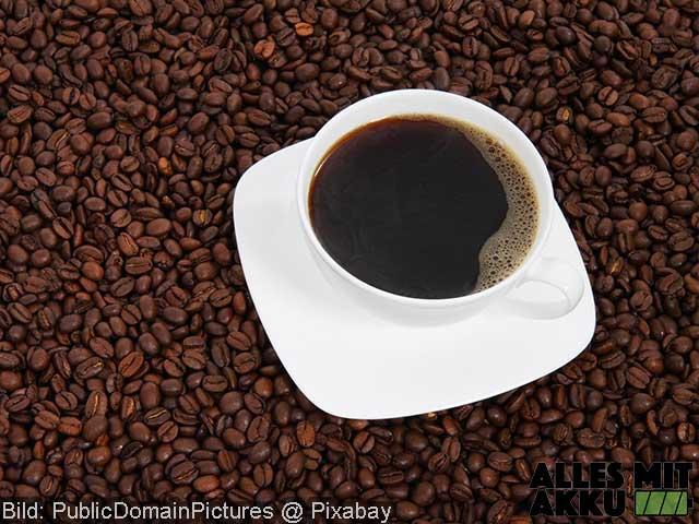 Blutdruck senken - Koffein