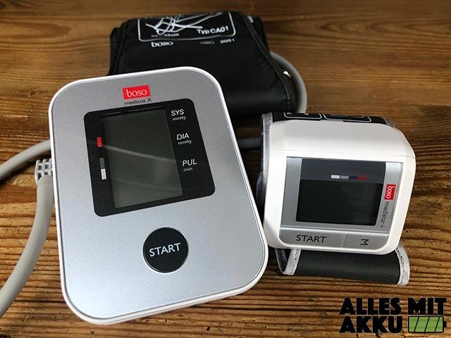 Blutdruckmessgeräte Test - Boso