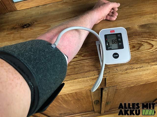 Boso Blutdruckmessgeräte Test - Medicus X Benutzersicht