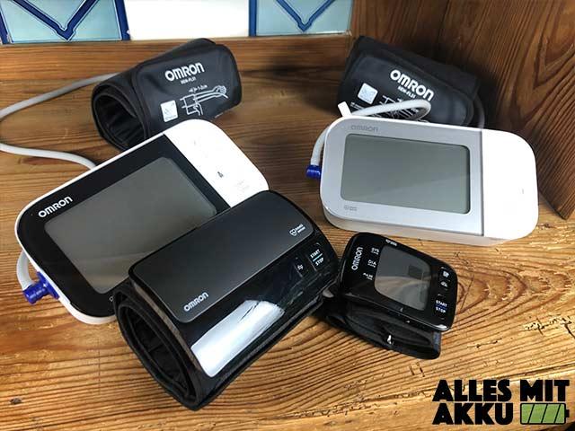 Omron Blutdruckmessgeräte Test