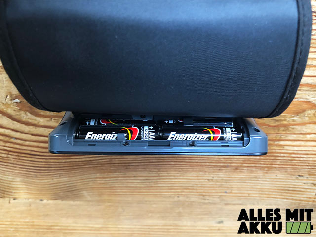 Omron EVOLV - Batteriefach
