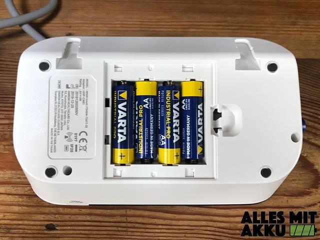 Omron M500 intelli IT - Batteriefach