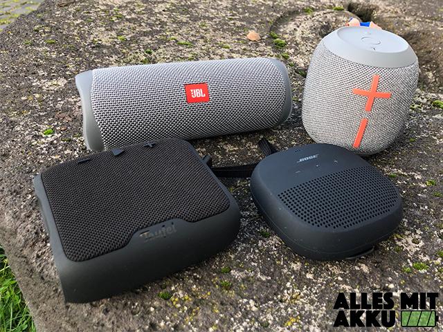 Bluetooth Lautsprecher Test - 1