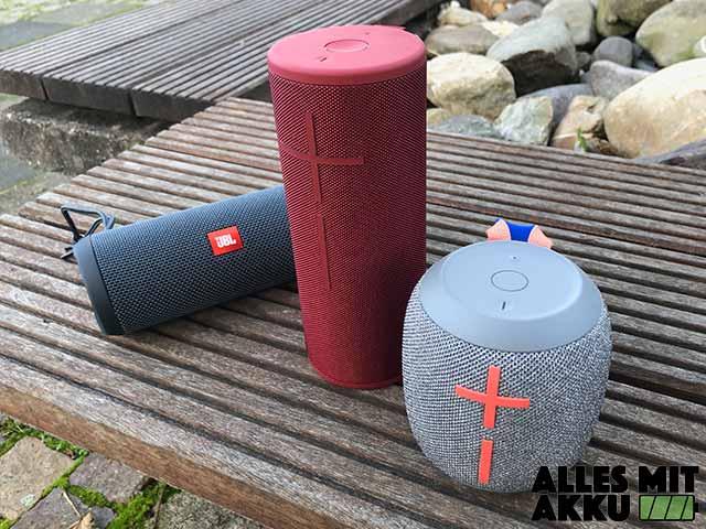 Bluetooth Lautsprecher Test - 2