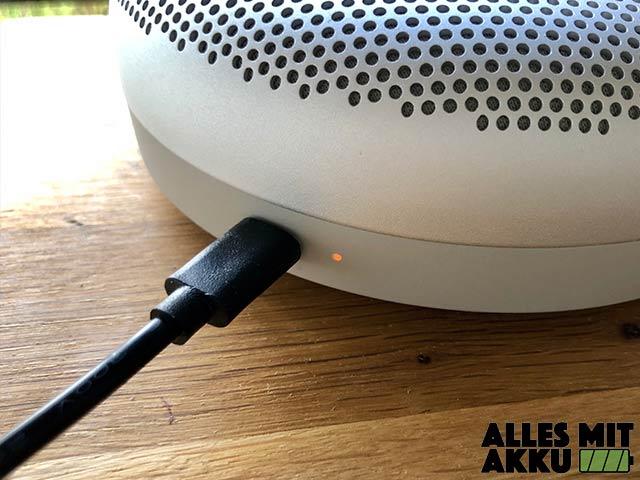Bluetooth Lautsprecher Test - Anschluss