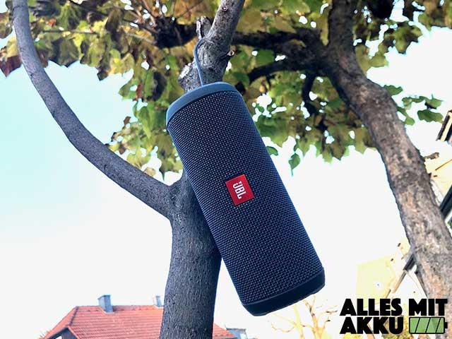 Bluetooth Lautsprecher Test - Aufhängen