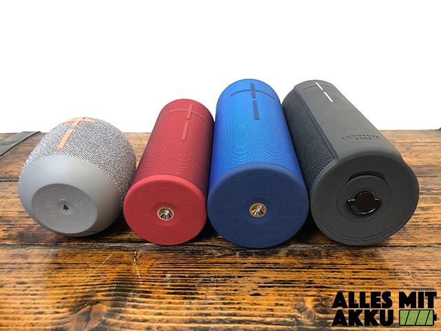 Bluetooth Lautsprecher Test - Gewicht