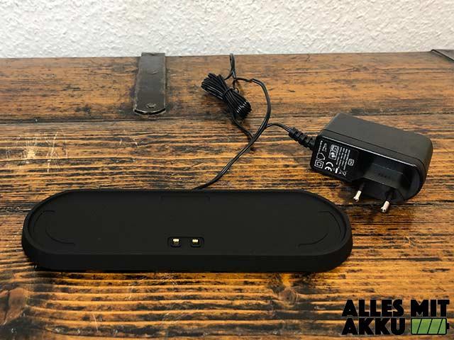 Bluetooth Lautsprecher Test - Ladestation