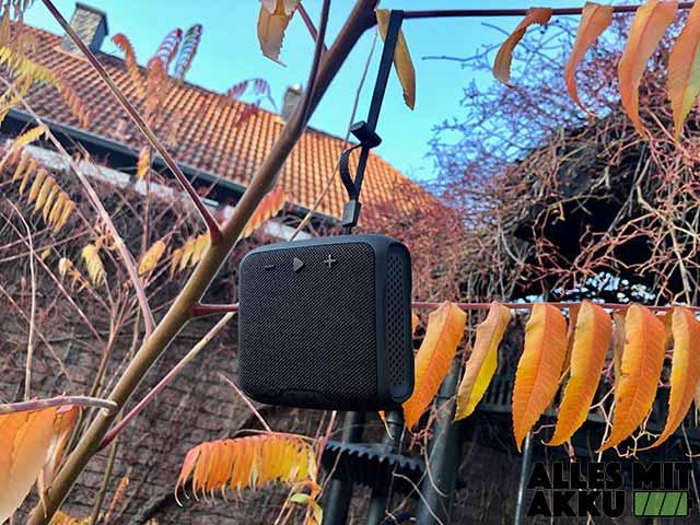 Bluetooth Lautsprecher Test - Outdoor 3