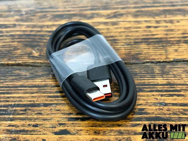 Bluetooth Lautsprecher Test - USB Ladekabel