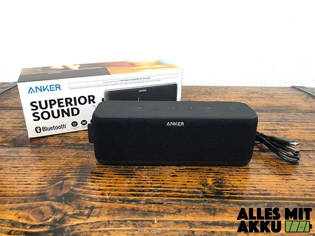 Anker SoundCore Boost Test - 2
