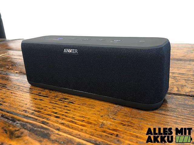 Anker SoundCore Boost Test