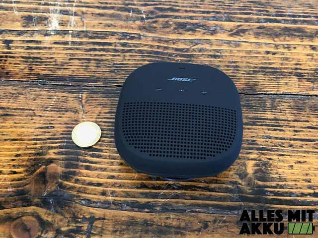 Bose SoundLink Micro Test - Größenvergleich