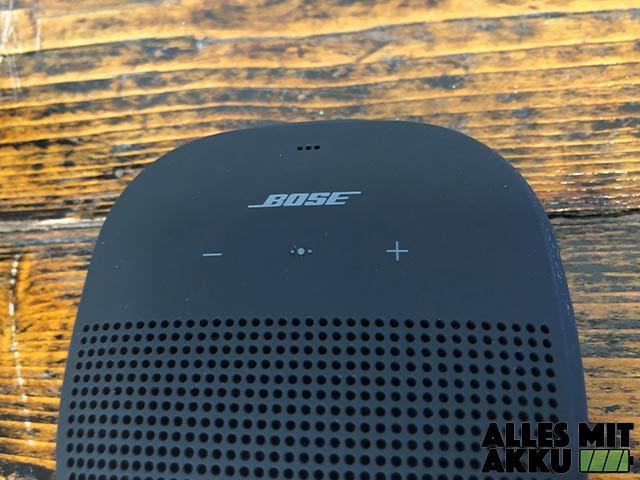 Bose SoundLink Micro Test - Lautstärke