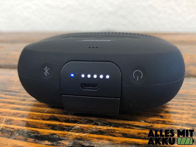 Bose SoundLink Micro Test - Tasten