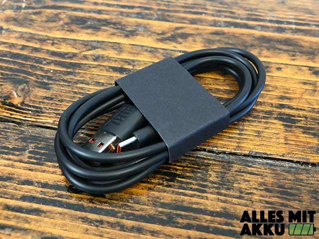 JBL Flip 5 Test - USB Ladekabel