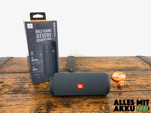 JBL Flip Essentials Test - Lieferumfang