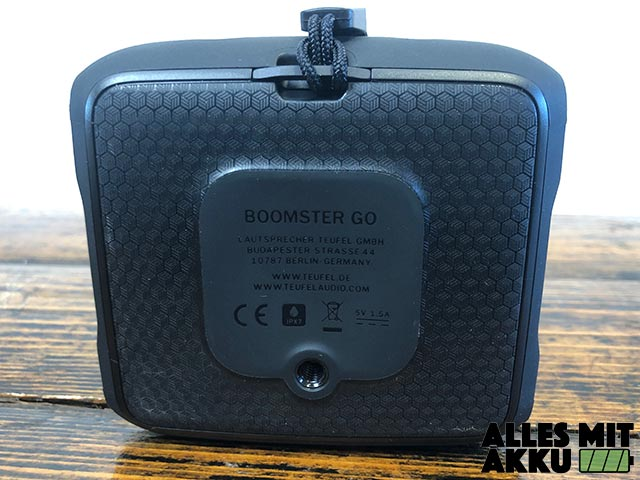 Teufel Boomster Test - Rückseite