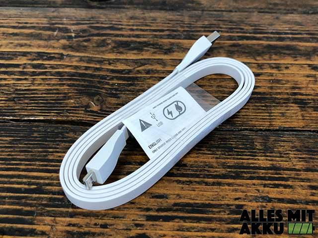 Ultimate Ears Boom 3 Test - USB Ladekabel