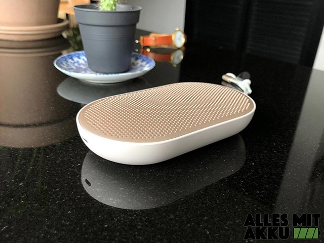 Bang & Olufsen Beoplay P2 Test - Design 2
