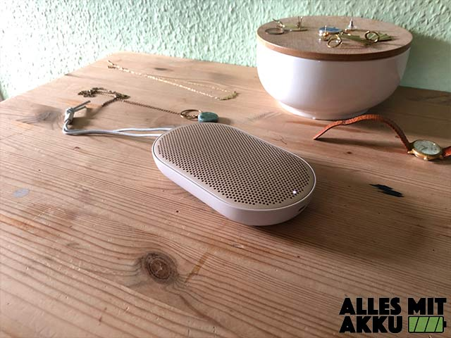 Bang & Olufsen Beoplay P2 Test - Design