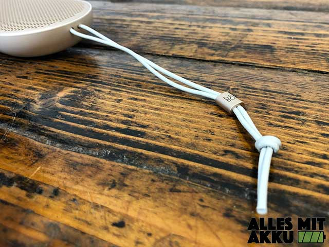 Bang & Olufsen Beoplay P2 Test - Transportband