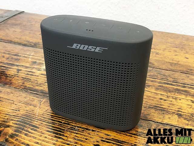 Bose SoundLink Color II Test 1