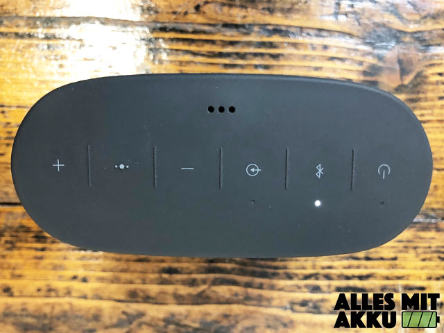Bose SoundLink Color II Test - Bedienung