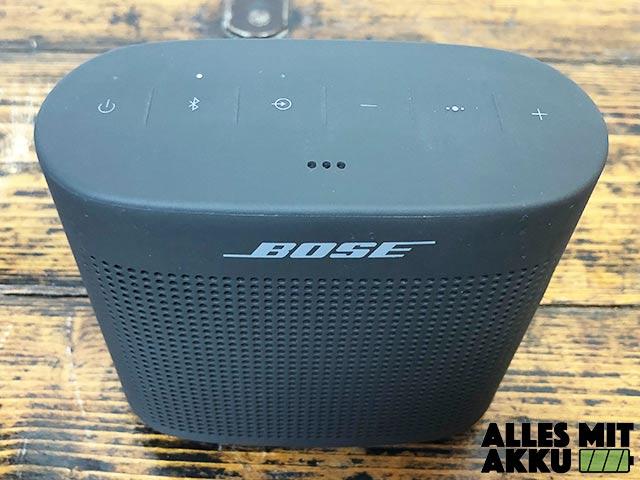 Bose SoundLink Color II Test - Oben