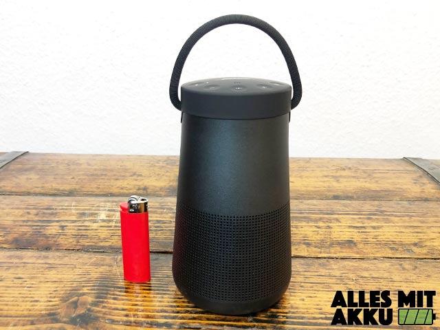 Bose SoundLink Revolve+ Test - Größenvergleich
