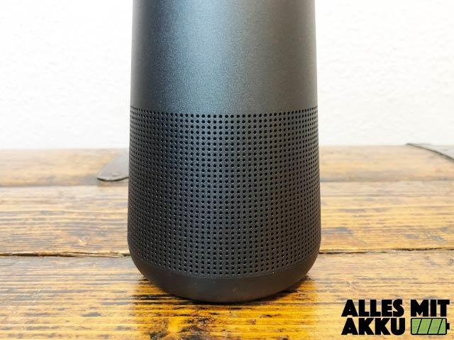 Bose SoundLink Revolve+ Test - Lautsprecher