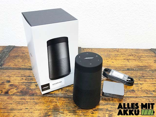 Bose SoundLink Revolve Test 2