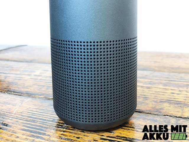 Bose SoundLink Revolve Test - Lautsprecher