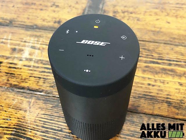 Bose SoundLink Revolve Test - Oben